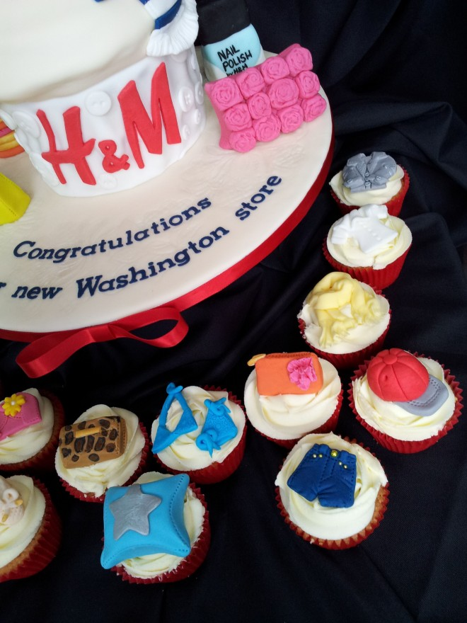 H&M New Store Celebration Cupcakes