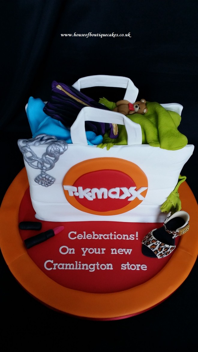 TK Maxx - Celebrating opening of new Cramlington store