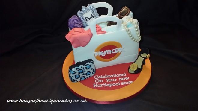 TKMAXX New Hartlepool Store Opening Cake