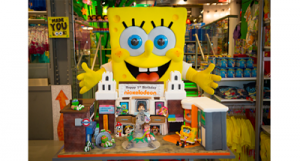 Nickelodeon Store's 1st Birthday Cake, Leicester Square, London