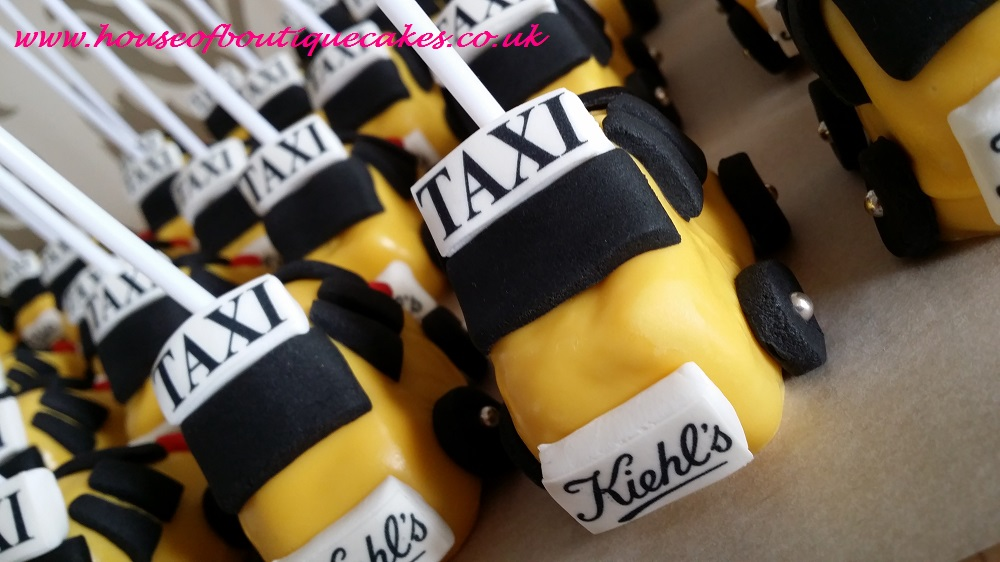 Kiehl's New York Themed Cake Pop