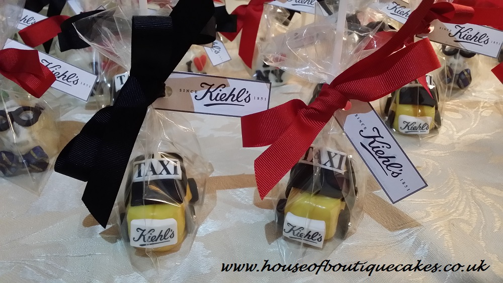 Kiehl's Taxi Cake Pops Wrapped