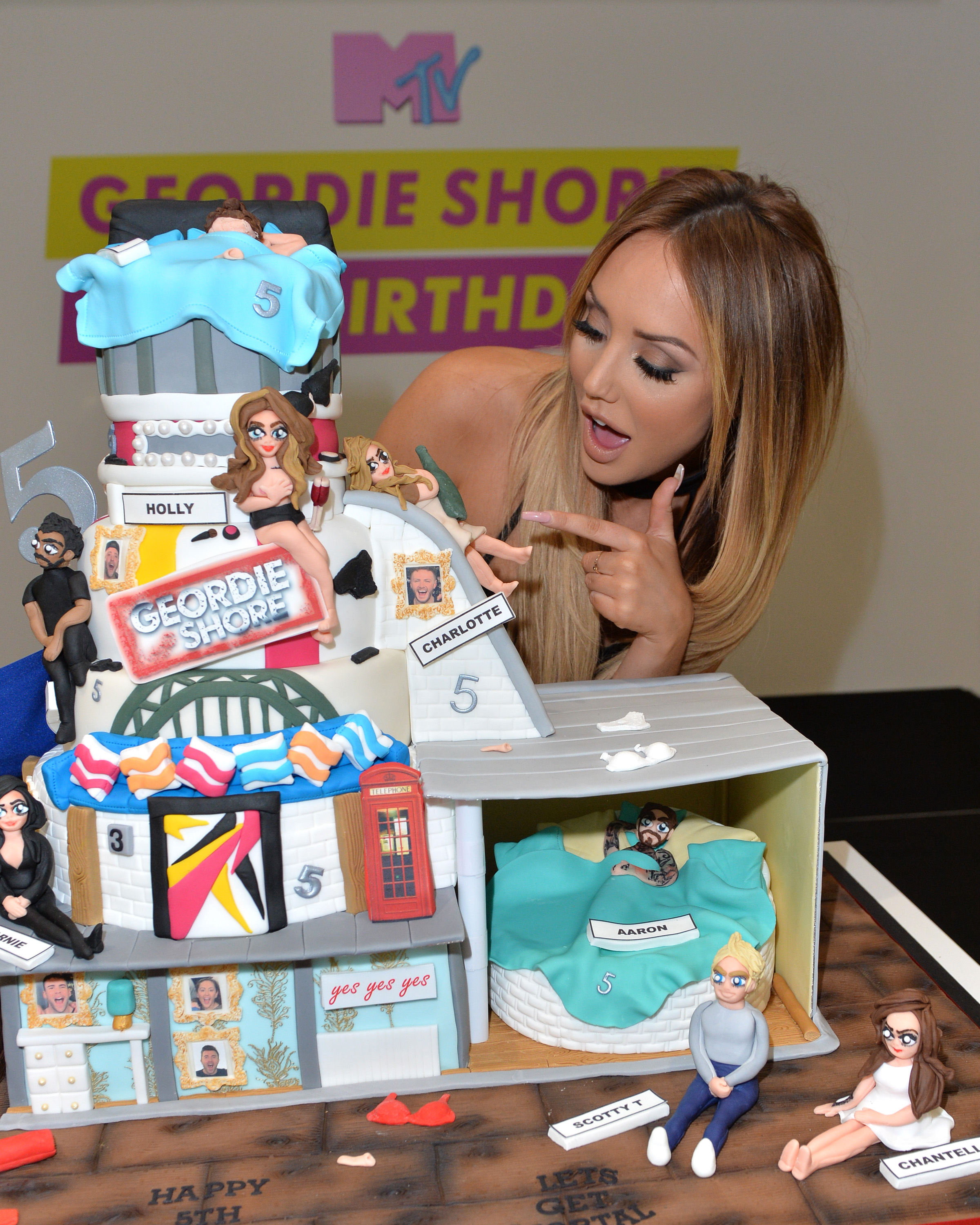 LONDON, ENGLAND - MAY 24: Charlotte-Letitia Crosby of Geordie Shore celebrate their fifth birthday at MTV London on May 24, 2016 in London, England. (Photo by Anthony Harvey/Getty Images) *** Local Caption *** Charlotte-Letitia Crosby
