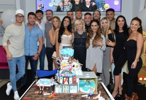 LONDON, ENGLAND - MAY 24:  Geordie Shore Cast celebrate their fifth birthday at MTV London on May 24, 2016 in London, England.  (Photo by Anthony Harvey/Getty Images)